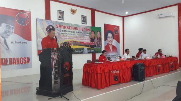 Sudin Apresiasi Kerja Keras Petani Lampung