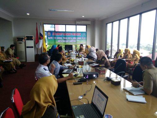 Massa Demo Pemkab Lampung Timur