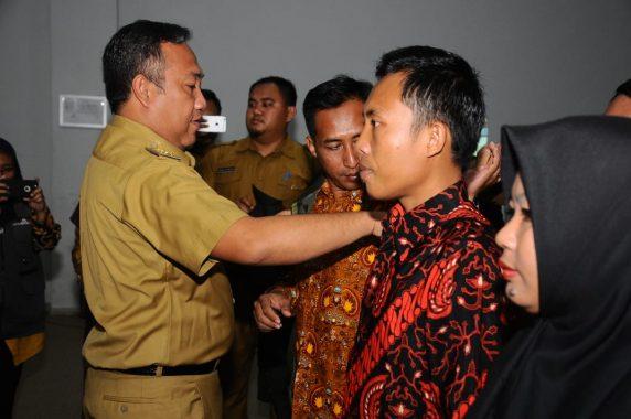 Bupati Tulangbawang Barat Umar Ahmad Kukuhkan 163 Guru Penggerak Kabupaten