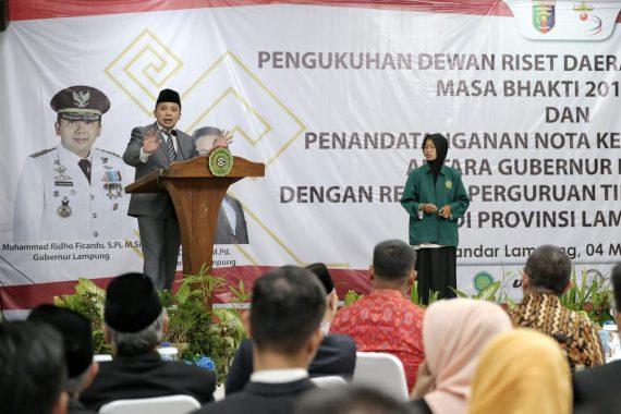 KPK Bantu Pemprov Lampung Cegah Korupsi