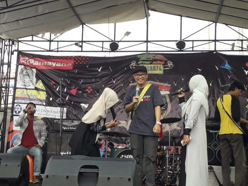Sosialisasikan Pemilu 17 April 2019, KPU Bandar Lampung Gaet Komunitas Ojek Online