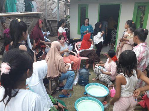 Caleg Termuda di Dapil Bandar Lampung untuk DPRD Lampung Usungan PKS Ini Gencar Sosialisasi di Tanjungseneng