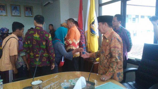 Polisi Tangkap Satu Provokator saat Massa Duduki Kantor KPU Lampung