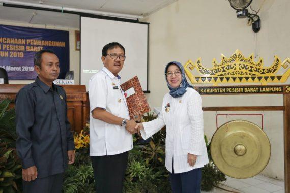 Pemprov Lampung Minta Pemkab Pesisir Barat Kreatif Bikin Program Pembangunan