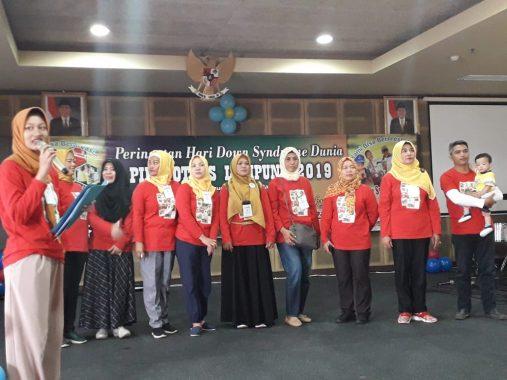 Anak-Anak Down Syndrome Bahagia Ikuti Beragam Lomba di Aula Imanuel Bandar Lampung