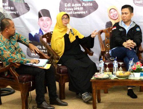 Hei Caleg Perempuan Lampung, Jangan Manja! Kata Kakak Detti Febrina Sih Gitu