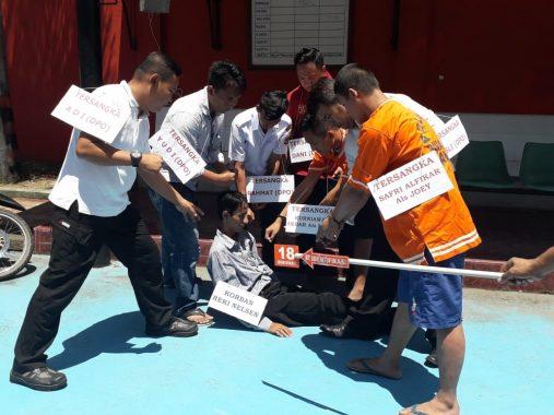 Caleg DPRD Mesuji Asal PAN Reki Nelson Dibunuh, Rekonstruksi Digelar dengan 29 Reka Adegan