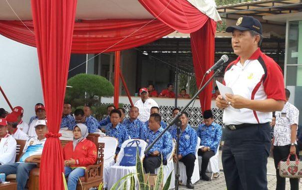 Ketua KONI Bandar Lampung Eva Dwiana Kukuhkan Koordinator Olahraga Kecamatan