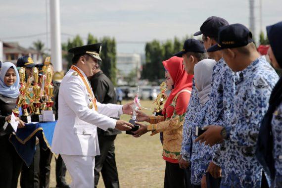 HUT Ke-55 Lampung, Gubernur Ridho Ficardo: Kita Makin Berdaya Saing