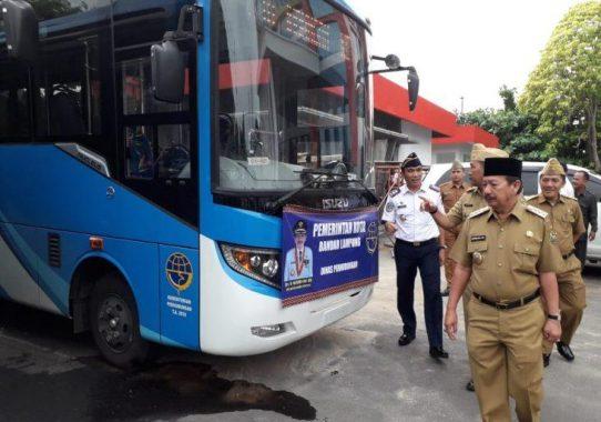 Ongkos Bus Panjang-Rajabasa Rp2.000