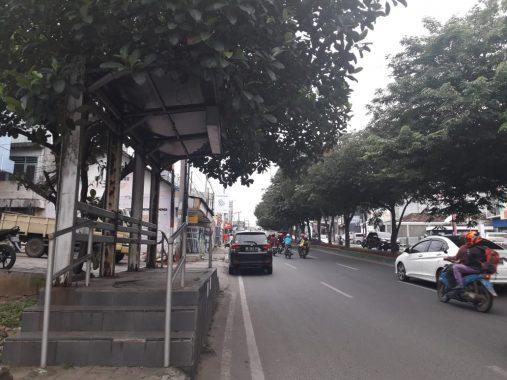 Halte-Halte Bus yang Rusak di Bandar Lampung Segera Diperbaiki