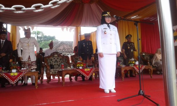 Pemkab Tanggamus Gelar Upacara HUT Ke-55 Provinsi Lampung