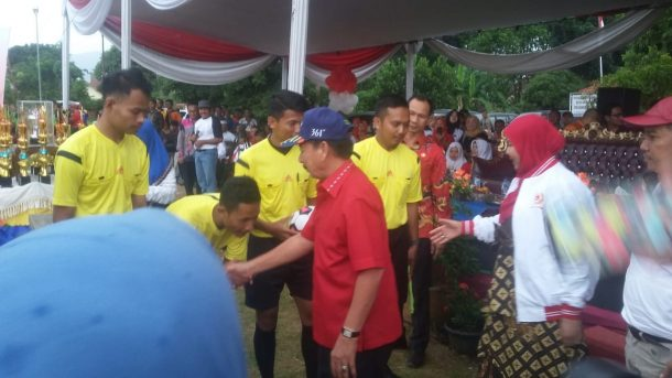 Wali Kota Bandar Lampung Tutup Porcam Kemiling di Lapangan Kalpataru