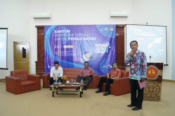 Unila Kerja Sama dengan Diskominfotik dan KPU Lampung Gelar Program Santun Bermedia Sosial