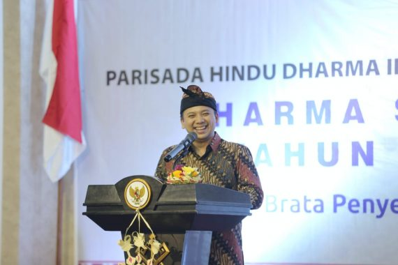 Gubernur Ridho Ficardo Ajak Umat Hindu Rawat Kebhinnekaan