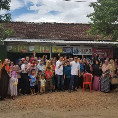 Relawan Komunitas Berbagi Lampung Gelar Pertemuan Bahasa Program Ramadan