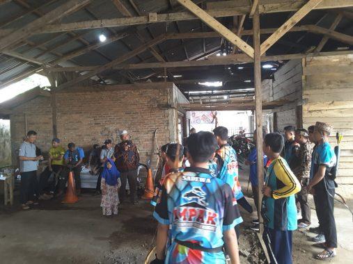 Perpani Tanggamus dan Gisting Archery Club Helat Lomba Panahan