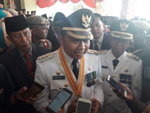 Usai Dilantik, Bupati Lampung Utara Agung Ilmu Mangkunegara Janji Nomor Satukan Pembangunan Infrastruktur