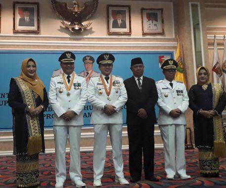 Usai Dilantik, Bupati Lampung Utara Agung Ilmu Mangkunegara Sebut Program Windu Cita