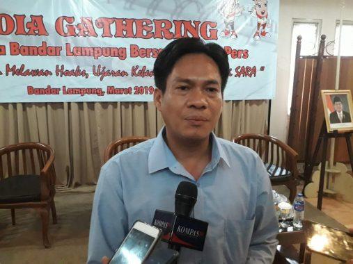 Ketua Bawaslu Bandar Lampung Candrawansah Tanggapi Hoax C1 Berunah-Ubah