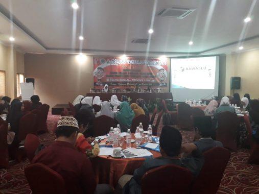 Pelajar NU Lampung Siap Bantu Bawaslu Awasi Serangan Fajar Pemilu 2019