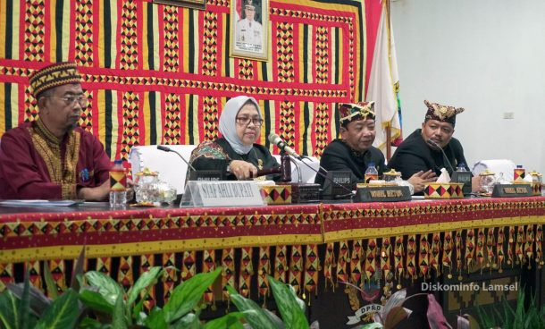 DPRD Lampung Selatan Gelar Paripurna Istimewa HUT Provinsi Lampung ke-55