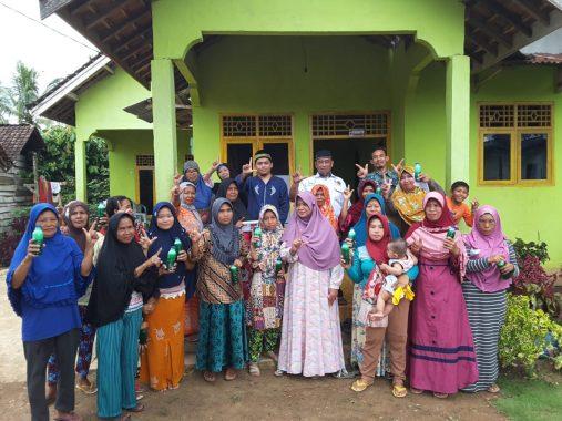 Jumpai Warga Dusun Buringsari Kampung Sumberrejo Kotagajah Lampung Tengah, Mufti Salim Diteriaki Emak-Emak: Doa, Pak, Doa