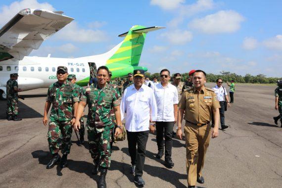 Gubernur Lampung Ridho Ficardo Klaim Sukses Wujudkan Penerbangan Sipil Bandara Gatot Subroto Way Kanan