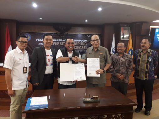 Advertorial: Universitas Lampung dan Telkomsel Jalin Kerja Sama Pengembangan Teknologi di Lingkungan Kampus