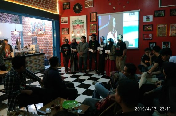 Lima Peserta Nobar Debat Capres Besutan Relawan Demokrasi Basis Warganet KPU Bandar Lampung Menang Lomba Foto Instagram Berhadiah Uang Tunai