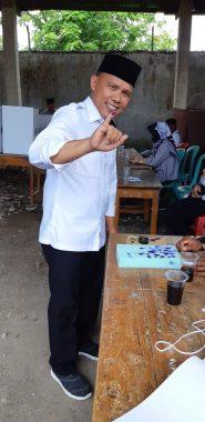 Antoni Imam Nyoblos di TPS 17 Desa Sidorejo Sidomulyo Lampung Selatan