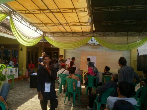 TPS 5 Tanjungagung Bandar Lampung Depan Kantor Jejamo.com, Jokowi 75 Suara, Prabowo 73, Tidak Sah 1