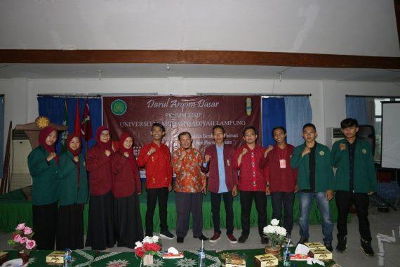 IMM Fisipol Universitas Muhammadiyah Lampung Gelar Darul Arqam Dasar