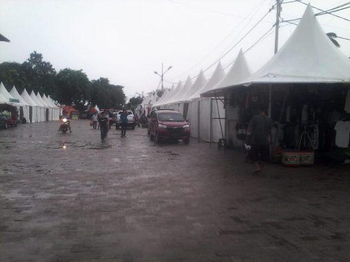 Beberapa Stan Lampung Fair Tidak Terisi