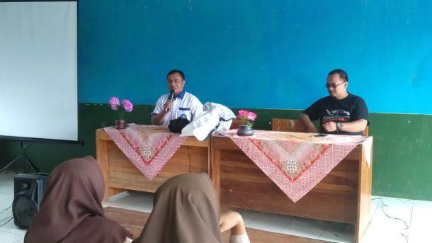 Diklat Jurnalistik di SMKN 1 Kotaagung Timur, Ini Harapan Kepala Sekolah Handoko
