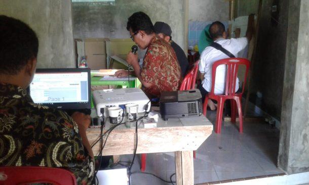 Pleno Rekapitulasi Pemilu di Kotaagung Timur Tanggamus Berlangsung Sampai Subuh