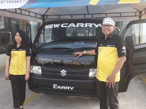 Suzuki Luncurkan New Carry Pick Up di Lampung