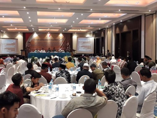 Kepala Biro Kesejahteraan Sosial Lampung Ratna Dewi Lepas Jamaah Umrah