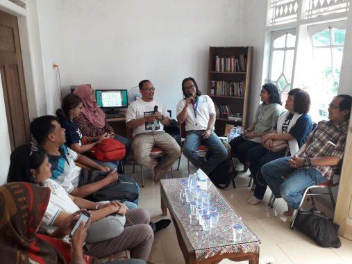 SNV Silaturahmi dengan Awak Redaksi Jejamo.com