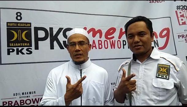 Caleg PKS untuk DPR Dapil Lampung 2 Maulana Mustika Dapat Dukungan Ketua Koppasandi Lampung