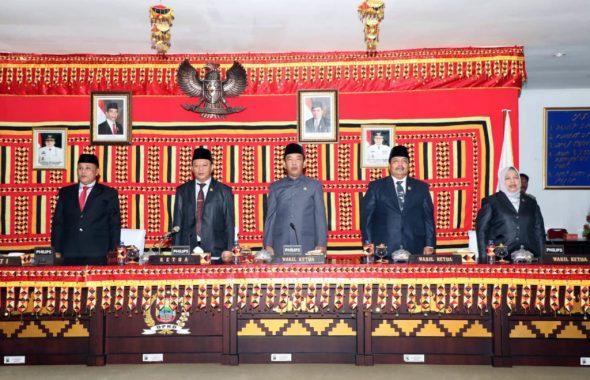 DPRD Lampung Selatan Sampaikan Rekomendasi LKPJ Bupati Tahun Anggaran 2018