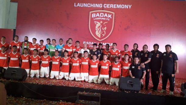 Badak Lampung FC Diperkenalkan kepada Publik Lampung, Siap Tarung Pada Liga 1 Tahun Ini