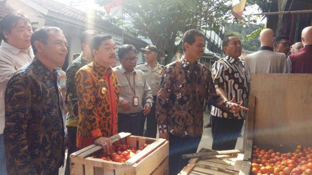 Pemerintah Pusat Gelar Operasi Pasar Bawang Putih di Tiga Titik di Bandar Lampung