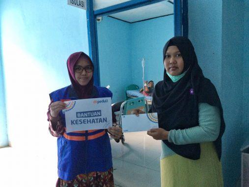 DT Peduli Lampung Bantu Suratman Pasien Penyakit Komplikasi di Rumah Sakit Abdul Moeloek