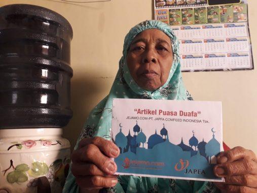Rumah Zakat Lampung Berbagi Makanan Buka Puasa di TPA Nurul Ilmi Kampung Rawabaru