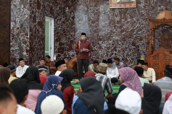 Safari Ramadan di Lampung Selatan, Gubernur Ridho Ficardo Minta Pemkab Lamsel Antisipasi Arus Mudik