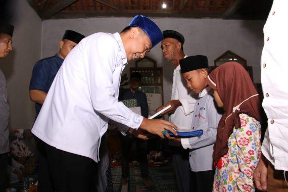 Safari Ramadan, Bupati Lampung Utara Agung Ilmu Mangkunegara Salurkan Bantuan untuk Yatim dan Duafa