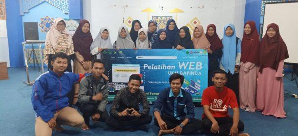 Media Center Bapinda UIN Lampung Gelar Pelatihan Website