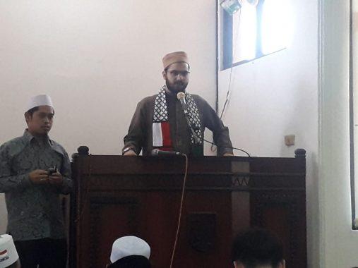 Difasilitasi ACT Lampung, Syekh Yahya Al Najjar Asal Palestina Ceramah di Masjid At Tanwir Pemprov Lampung