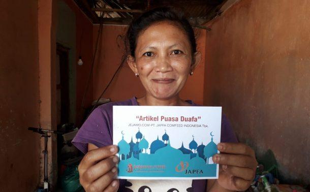 PUASA DUAFA: Hidup Kekurangan Tak Bikin Desi Yanti Minta Belas Kasihan Orang